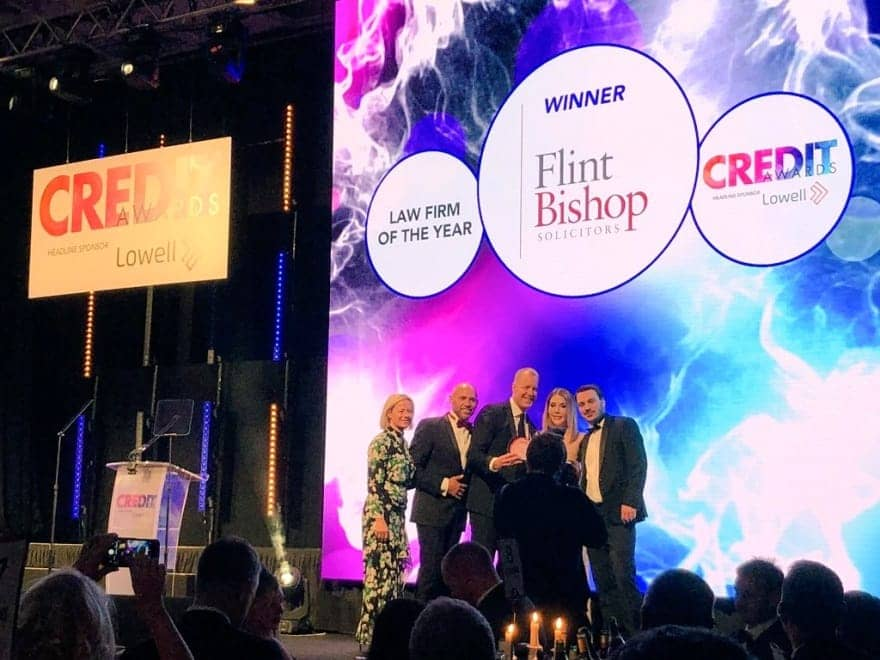 credit awards 2018 law firm of the year flint bishop - media release image