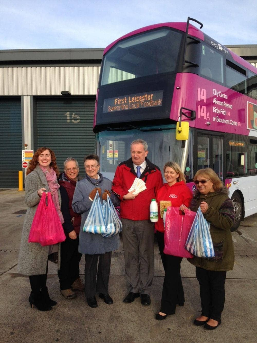 Members Unite To Give Food Bank Users Free Tranpsort East