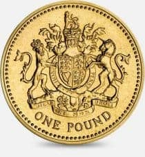Old £1 coin