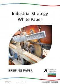 Industrial Strategy White Paper briefing document